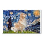 Starry Night & Golden Sticker (Rectangle)