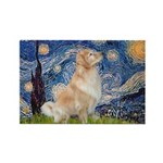 Starry Night & Golden Rectangle Magnet (10 pack)
