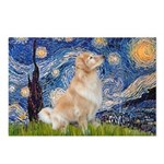 Starry Night & Golden Postcards (Package of 8)