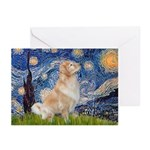 Starry Night & Golden Greeting Cards (Pk of 10)