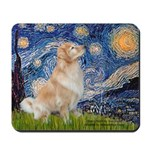 Starry Night & Golden Mousepad