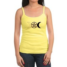 Triple Moon Pentacle Jr Spaghetti Tank - Purple