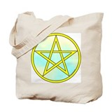 Elemental Pentacle Tote Bag - Air