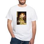 The Queen's Golden White T-Shirt