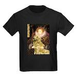 The Queen's Golden Kids Dark T-Shirt