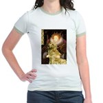 The Queen's Golden Jr. Ringer T-Shirt