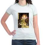The Queen's Golden Jr. Ringer T-Shirt