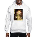 The Queen's Golden Hooded Sweatshirt