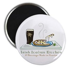 Irish Italian Kitchen Magnet