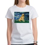 Lilies (#5) & Golden (1B) Women's T-Shirt