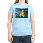 Lilies (#5) & Golden (1B) Women's Light T-Shirt