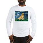 Lilies (#5) & Golden (1B) Long Sleeve T-Shirt
