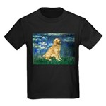 Lilies (#5) & Golden (1B) Kids Dark T-Shirt
