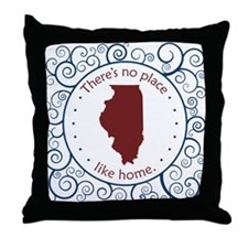 Illinois Throw Pillow