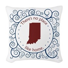 Indiana Woven Throw Pillow