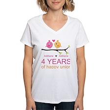 4th Year Anniversary Person Shirt
