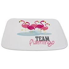 Team Flamingo Bathmat