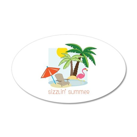 Sizzlin Summer Wall Decal
