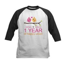 1st Anniversary Personalized Tee