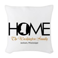 Mississippi Home Woven Throw Pillow