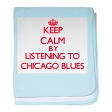 Cool Chicago musical baby blanket