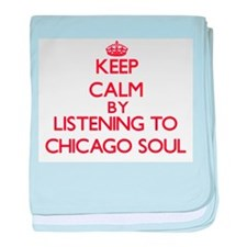 Funny Chicago musical baby blanket