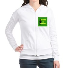 NO farms no farm girls funny woman Fitted Hoodie