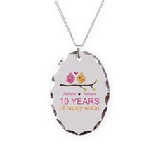 10th Anniversary Personalized Necklace