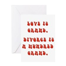 Love Grand Greeting Cards