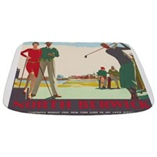 North Berwick, Golf, Vintage Poster Bathmat