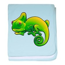 Funny Amphibians and reptiles baby blanket