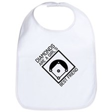 Diamonds girls best friend Bib