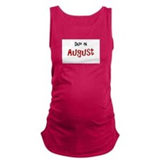Due In August Maternity Tank Top