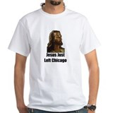 Jesus Just Left Chicago Shirt w/Lyric