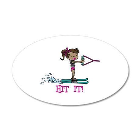 Hit It Wall Decal