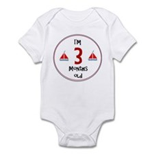 I'm 3 Months Old Body Suit