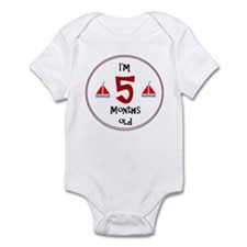 I'm 5 Months Old Body Suit