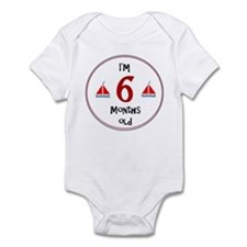 I'm 6 Months Old Body Suit