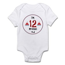 I'm 12 Months Old Body Suit