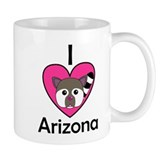I Love Arizona Small Mug