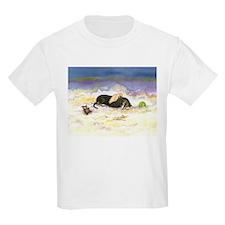 Black and Tan Dachsie Angel T-Shirt