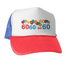 60 years old - 60th Birthday Trucker Hat