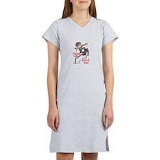 Use Hand Rail Women's Nightshirt