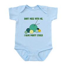 POINTY STICKS Infant Bodysuit