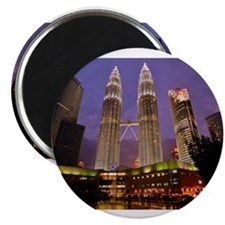 Petronas Twin Towers and Suria KLCC Shopping Kuala