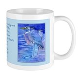 Herons in blue Coffee Mug