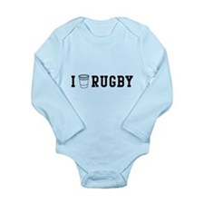 I drink rugby Body Suit