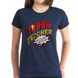 Superhero teacher Tops