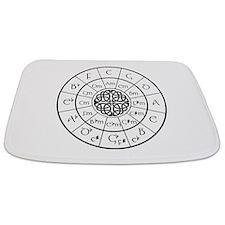 Celtic-blk Circle of 5ths Bathmat