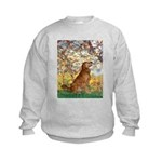 Spring & Golden (#12) Kids Sweatshirt